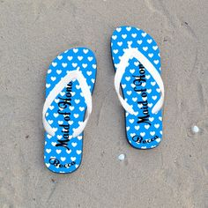 771c70460281 31 Best Just Married Flip Flops   Wedding Flip Flops images
