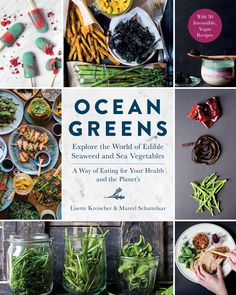 http://oceangreensbook.com/ And here it is! Ocean Greens! – #ecofabulous #plantpower #groenteuitzee #oceangreens #roosrutjes #zeewier #seaweed #thedutchweedburger #stichtingnoordzeeboerderij #lisettekreischer  #vegan #cookbook