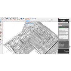 Woody l'extension(plugin) pour Sketchup dédié aux ossatures bois Google Sketchup, Woody, Map, Table, Location Map, Tables, Maps, Desk, Tabletop
