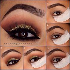how to professional makeup at home I Love Makeup, Gorgeous Makeup, Diy Makeup, Makeup Tips, Face Makeup, Makeup Tutorials, Learn Makeup, Makeup Stuff, Gorgeous Eyes