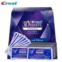 ==> [Free Shipping] Buy Best 1Box 40Strips 20Pouches 20days Crest 3D white whitestrips LUXE Professional Effects Teeth Whitening dental oral hygiene original Online with LOWEST Price | 32666069715  http://getfreecharcoaltoothpaste.tumblr.com