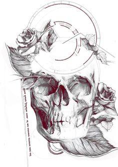 Designs | Hip - Dark - Sketch Tattoo Design Needed! | Illustration or graphics contest