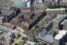 Our main campus featuring a range of buildings built between 1834 and 2007