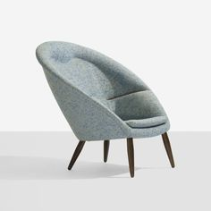 Lounge Chair and Ottoman: Nanna Ditzel 1950s <<<<Really? Say, what about that ottoman?
