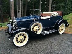 1930 Ford Model A Roadster.