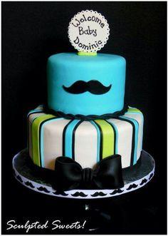 Cute shower cake