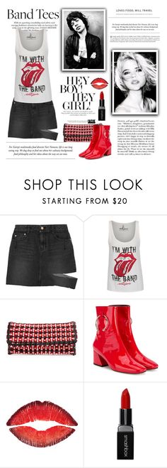"""""""I'm With the Band"""" by conch-lady ❤ liked on Polyvore featuring Steve J & Yoni P, Jagger, Balenciaga, Dorateymur, Givenchy, Smashbox, polyore, bandtees and ImWithTheBand"""