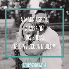 A Marriage on a Mission HAS Social Media Accountability! Accounting, Marriage, Social Media, Mariage, Weddings, Social Networks, Social Media Tips, Casamento