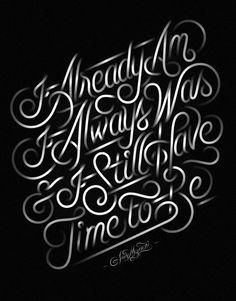 Lettering & Typography by Jordan Metcalf | Inspiration Grid | Design Inspiration