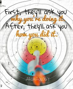 #archerylife -Especially if your shooting different equipment than they are.