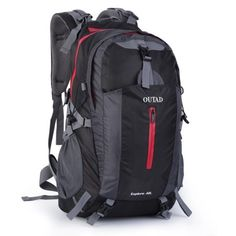 Outdoor Camping Hiking Explore 40L Backpack With Suspension System Aotu cacb3320d7026