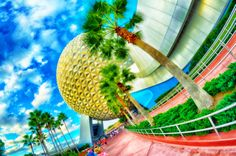 A stylized HDR photo of Spaceship Earth that I took last October! This photo and many more are available to purchase as prints at www.marclorenzo.zenfolio.com