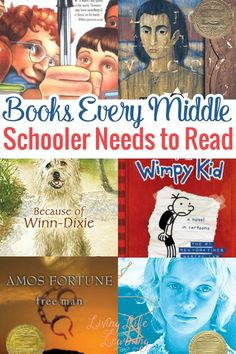 Your teen has to read these books every middle schooler should read before they head onto high school