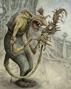 Evil troll