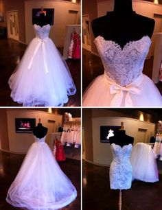 Tara Keely Wedding Gown      must.freaking.have.this... but less bow, MORE SPARKLE