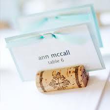 cork name card holders