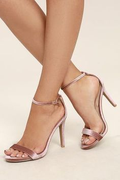 ff3c8ec5a The must-see event of the season stars you in the All-Star Cast Blush  Velvet Ankle Strap Heels! Soft velvet is molded to a slender toe strap