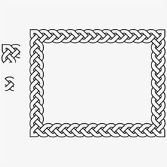 Celtic Drawing Landscape - Celtic Border Free Printable Letter Templates, Printable Letters, Celtic Patterns, Celtic Designs, Celtic Drawings, Celtic Knot Tutorial, Celtic Border, Page Decoration, Persian Calligraphy