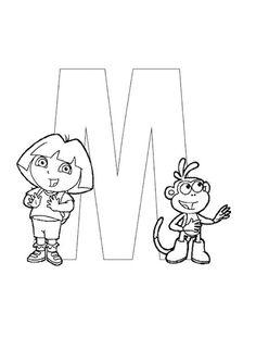 Exercices à imprimer pour les enfants. Alphabet 60