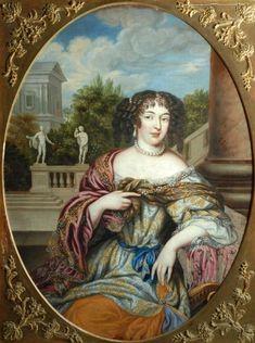 Madame de Montespan, circa 1670's by Henri Gascard