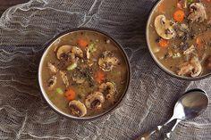 Comforting Mushroom Soup by @TastyYummies