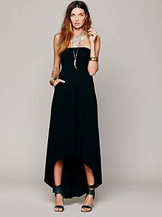Free People Solid Kristal's Maxi, $98.00