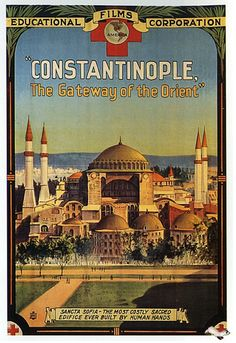 Constantinople - Vintage Turkey! Scan your old posters & photos with Pic Scanner app for iPhone & iPad. Download now, free