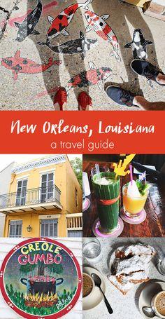 New Orleans, Louisiana travel guide via www.abeautifulmess.com