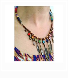 ❁ Colar Dynasty ☮ Handmade ✾ Vendas on-line @kurusgilabohemian
