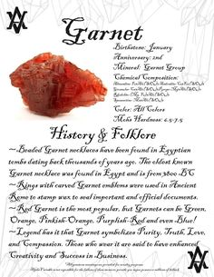 #garnet #facts and #