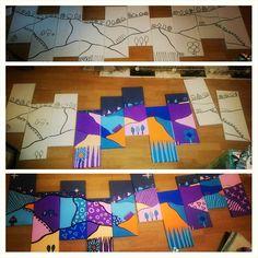 Landscape work in progress  #wip #workinprogress #painting #drawing #illustration #landscape #hills #trees #nature #horizon #art #artwork #artist #illustration #illustrator #acrylic #posca #canvas #design #decor #artistsatwork #artstudio #painter #abstract #modern #streetart #outsiderart #abstractart #modernart