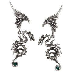 Alchemy Gothic Bestia Regalis Earrings