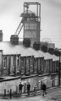 Locomotive, Easington Colliery, Minions, Coal Miners, North East England, Industrial Architecture, Slums, Durham, Great Britain