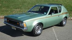 1972 AMC Gremlin X, straight stick Retro Cars, Vintage Cars, Amc Gremlin, American Motors, Top Cars, Gremlins, Classic Cars, Classic Auto, Cars And Motorcycles