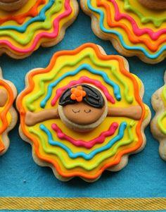 Adorable Ballet Folklorico cookies for Cinco de Mayo