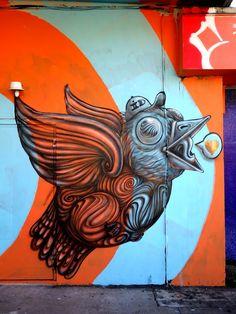 Street Art & Graffiti of Wynwood, Miami