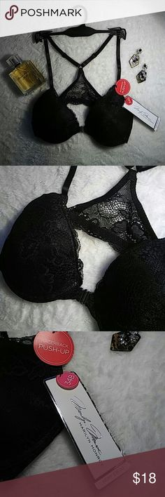 Marilyn Monroe Push-Up Racerback Front clasp/racerback Lace push-up NWT  Let me know if you want the hanger Marilyn Monroe Intimates & Sleepwear Bras