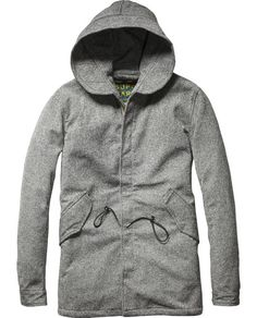 Special Wool Parka  - Scotch