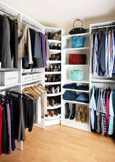 How to Improve Your Storage with an Elegant Closet Organizer