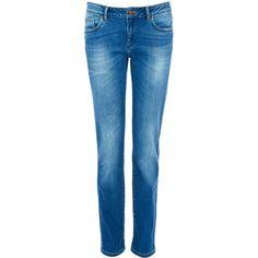 Warehouse Straight leg jean ($46) ❤ liked on Polyvore