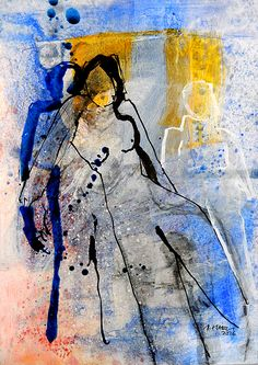 Figuren (Karton) | süessART - Kunst aus Leidenschaft Figure Painting, Figure Drawing, Sweets Art, Wordpress Theme, Collages, People Art, Texture Painting, Bird Art, Figurative Art