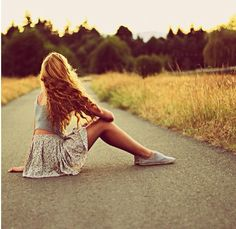 #summer #road #girl