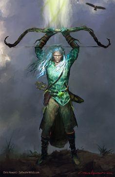 Elf Archer Crop by the0phrastus on DeviantArt