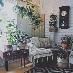 #living #room #boho #scandi #rustic #nordic #diy #decoration #style #greendecor #indoorplants #plants #sisustus