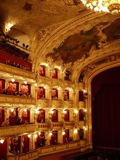 Prague State Opera - 2 >> If you visit the opera or concerts, you'll be more comfortable in smarter dress. A jacket and tie is not essential, but wouldn't be out of place. Having said that, if you wear jeans and trainers you won't be refused entry.