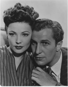 """Laura"" - Vincent Price, Gene Tierney, Dana Andrews, Clifton Webb, Judith Anderson. A classic not to be missed."
