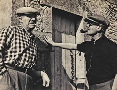 Léger with Le Corbusier