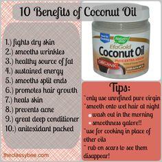 coconut oil, benefits of coconut oil, coconut