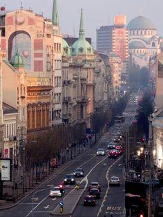 Travel and Lifestyle Diaries Blog: Belgrade, Serbia: Terazije View