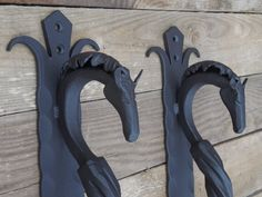 Hand forged door pulls, Horse's head, Blacksmith made, Wrought iron, Steel gate & Shed handles, Entrance door pull handle. #Hand #forged #door #pulls #Blacksmith #Horse's #Wrought #Iron #Handmade